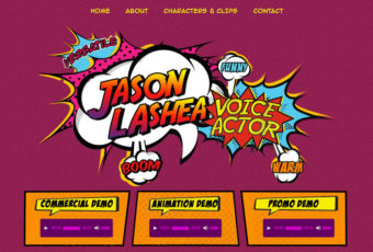 Jason LaShea Voice Over Website