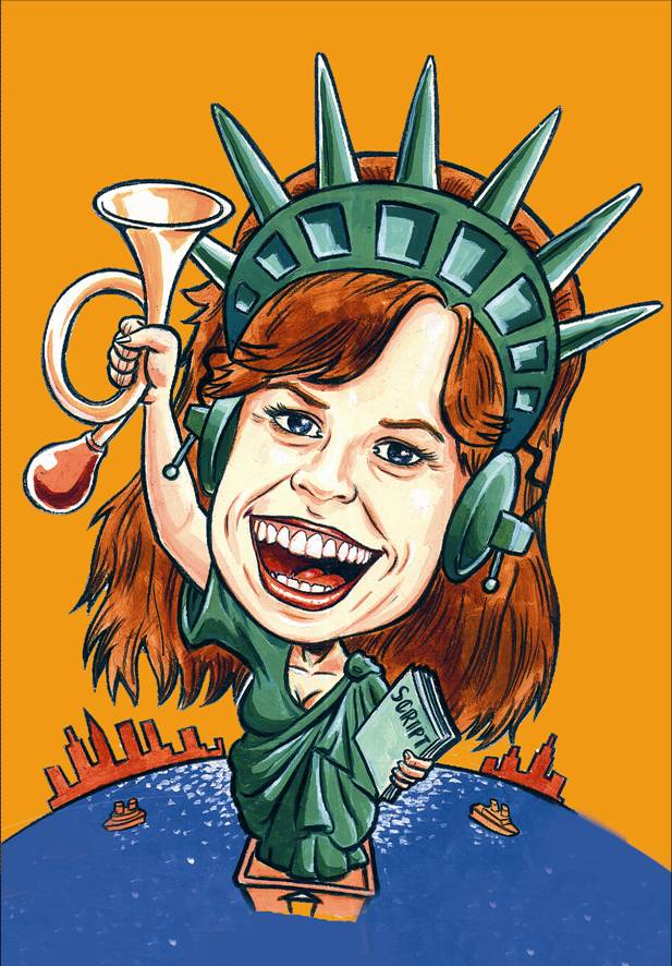 Dian Perry Voice Over Caricature