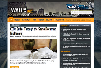 Wall Street Daily Website