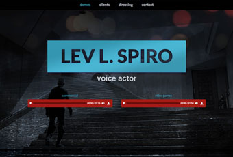Lev L Spiro Voice Over