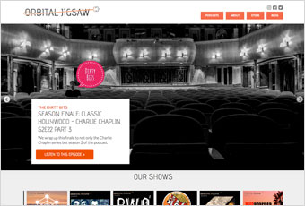Orbital Jigsaw Featured Web Design